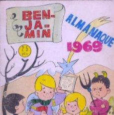 Tebeos: ALMANAQUE EL BENJAMÍN 1969. Lote 72068419