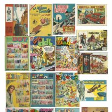 Tebeos: 71 TEBEOS AÑOS 1962-1976. JAIMITO, ROBERTO ALCÁZAR, SAFARI, EL CID, PUMBY, TBO, LILY, DDT.... Lote 72777899