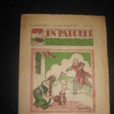 Tebeos: EN PATUFET Nº 1776. 6 MAIG DEL 1938. JUNCEDA, LLAVERIES,MALLOL...GUERRA CIVIL.. Lote 72870935