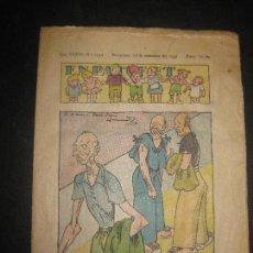 Tebeos: EN PATUFET Nº 1742. 10 SEPTEMBRE DEL 1937. JUNCEDA, LLAVERIES, MALLOL...GUERRA CIVIL.. Lote 72871231