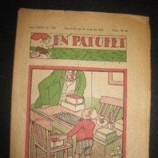 Tebeos: EN PATUFET Nº 1777. 13 DE MAIG DEL 1938. JUNCEDA, LLAVERIES, MALLOL...GUERRA CIVIL.. Lote 72871319