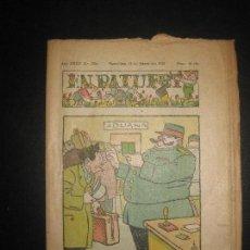 Tebeos: EN PATUFET Nº 1764 11DE FEBRER DEL 1938. JUNCEDA, LLAVERIES, MALLOL...GUERRA CIVIL.. Lote 72871631