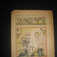 Tebeos: EN PATUFET Nº 1765 18 DE FEBRER DEL 1938. JUNCEDA, LLAVERIES, MALLOL...GUERRA CIVIL.. Lote 72871671