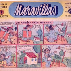 Tebeos: MARAVILLAS Nº149 (FRENTE DE JUVENTUDES). DIBUJOS DE ESTEBITA, CASTANYS, SANTI, MAÑO,PENA.... Lote 73037631