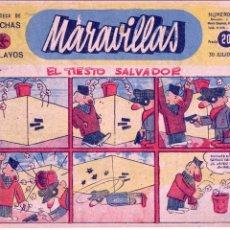 Tebeos: MARAVILLAS Nº151. (FRENTE DE JUVENTUDES). DIBUJOS DE SANTI, CASTANYS, TITOS, CARMELO.... Lote 73039135