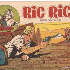 Tebeos: RIC RICE EL PACIFICADOR, AÑO 1.960. Nº 14. SIN ABRIL. ORIGINAL. EDITORIAL CREO.. Lote 73069135