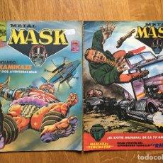 Tebeos: METAL MASK- NUMEROS 3 Y 5 - MC EDICIONES. Lote 74179363