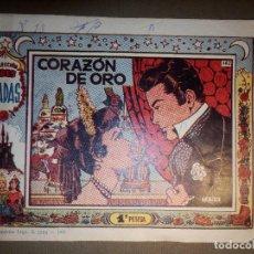 Tebeos: TEBEO - COLECCION TRES HADAS- Nº 162 - CORAZÓN DE ORO - INDEDI -. Lote 74355955