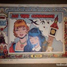 Tebeos: TEBEO - COLECCION TRES HADAS- Nº 163 - LAS TRES CAMPANADAS - INDEDI -. Lote 74356139