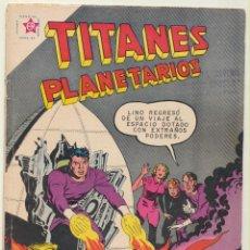 BDs: TITANES PLANETARIOS Nº 78. NOVARO 1959. MUY DIFICIL.... Lote 74981511