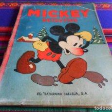 Tebeos: BUEN PRECIO. AVENTURAS DE MICKEY Nº 12 DETECTIVE. WALT DISNEY. SATURNINO CALLEJA 1936. . Lote 75212179