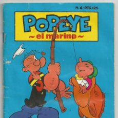 Tebeos: POPEYE EL MARINO - Nº 6 - COLECCION BABY COMICS - ED. NEW COMIC 1985. Lote 75825543