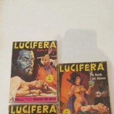 Tebeos: LUCIFERA Nº 2-17-18. Lote 76026247