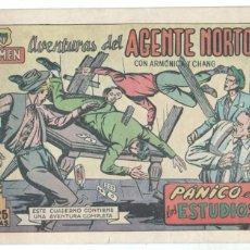 Tebeos: G-MEN - AVENTURAS DEL AGENTE NORTON ORIGINAL Nº 24 - ÚLTIMO EDI. JARA 1951 - AROCA. Lote 77556401
