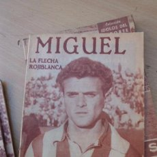 Tebeos: TEBEO COMIC MIGUEL LA FLECHA ROJIBLANCA Nº3 IDOLOS DEL DEPORTE 1958 N-2265. Lote 78117729