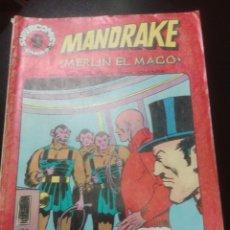 Tebeos: MANDRAKE Nº 11. SUPERCOMICS GARBO. Lote 78164058