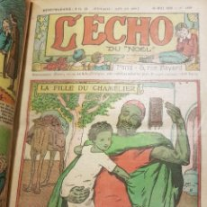 Tebeos: L ´ÉCHO. AÑO 1930 COMPLETO. ENCUADERNADO.. Lote 79041345
