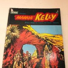 Tebeos: TRINCA ALBUM CARTONE Nº 2. MANOS KELLY. DONCEL 1971. Lote 80199177