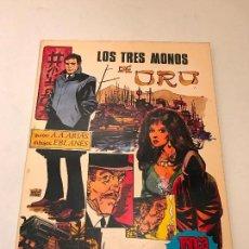 Tebeos: TRINCA ALBUM RUSTICA Nº 33. LOS 3 MONOS DE ORO. DONCEL 1971.. Lote 207166867