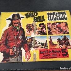 Tebeos: WILD BILL HICKOC Nº 5 CUADERNOS DEL LEJANO OESTE (ORIGINAL ED. GESTION) (C2). Lote 80326365