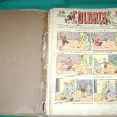 Tebeos: COLORIN MAGIN PIÑOL 1920 BUEN LOTE DE EJEMPLARES DE LOS PRIMEROS VER DESCRIPCION. Lote 80374745