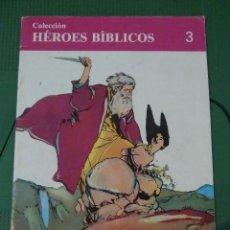 Tebeos: LOTE DE 20 NUMEROS DE LA COLECCION HEROES BIBLICOS. Lote 80804467