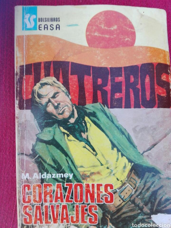 CORAZONES SALVAJES CUATREROS BOLSILIBROS EASA (Tebeos y Comics - Tebeos Otras Editoriales Clásicas)