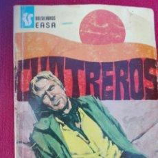Tebeos: CORAZONES SALVAJES CUATREROS BOLSILIBROS EASA. Lote 81063515