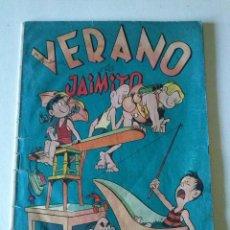 Tebeos: JAIMITO, VERANO Nº 9 - VALENCIANA -ORIGINAL -. Lote 122209171