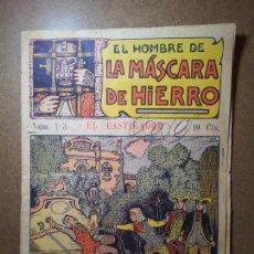 Tebeos: MÁSCARA DE HIERRO (EL CASTIGADOR ). EDITORIAL EL GATO NEGRO (ANTIGUA BRUGUERA). DIBUJOS DE NIEL . Lote 81561128