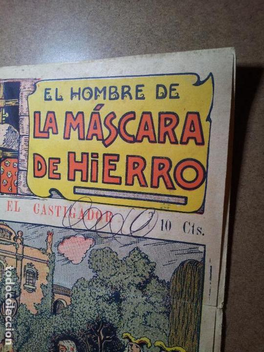 Tebeos: Máscara de hierro (El castigador ). Editorial El Gato Negro (antigua Bruguera). Dibujos de Niel - Foto 6 - 81561128