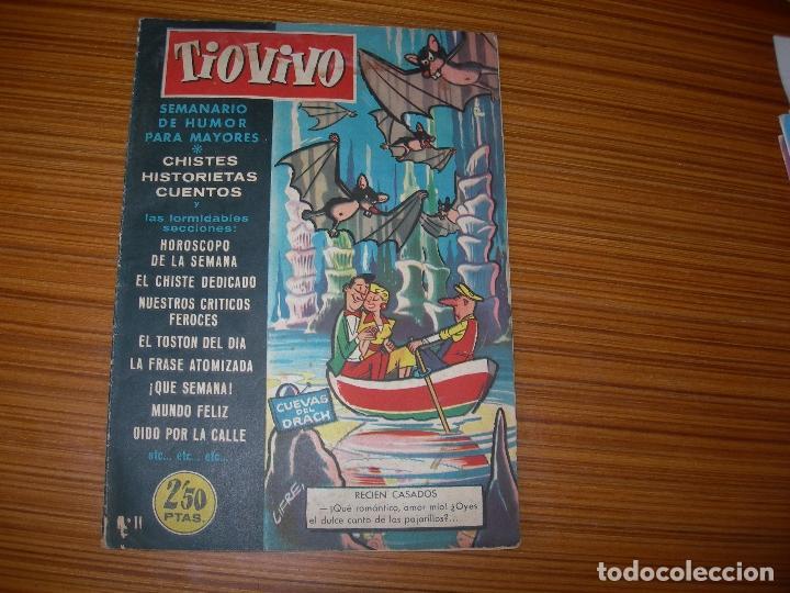 TIO VIVO Nº 11 EDITA CRISOL (Tebeos y Comics - Tebeos Otras Editoriales Clásicas)