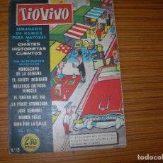 Tebeos: TIO VIVO Nº 19 EDITA CRISOL . Lote 81916984