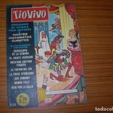 Tebeos: TIO VIVO Nº 20 EDITA CRISOL . Lote 81917152