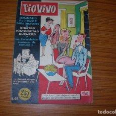 Tebeos: TIO VIVO Nº 45 EDITA CRISOL . Lote 81918916