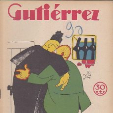 Tebeos: COMIC COLECCION GUTIERREZ Nº 90. Lote 82265092
