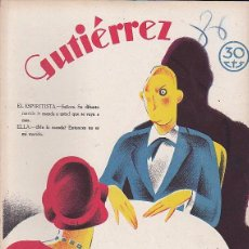Tebeos: COMIC COLECCION GUTIERREZ Nº 86. Lote 82265140