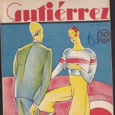 Tebeos: COMIC COLECCION GUTIERREZ Nº 61. Lote 82266604