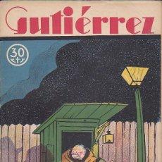 Tebeos: COMIC COLECCION GUTIERREZ Nº 27. Lote 82267056