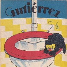 Tebeos: COMIC COLECCION GUTIERREZ Nº 56. Lote 82299668