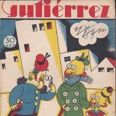 Tebeos: COMIC COLECCION GUTIERREZ Nº 35. Lote 82299724