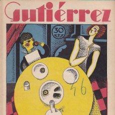Tebeos: COMIC COLECCION GUTIERREZ Nº 46. Lote 82299760
