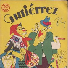 Tebeos: COMIC COLECCION GUTIERREZ Nº 84. Lote 82299888