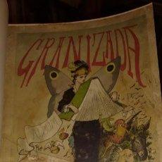 Tebeos: APELES MESTRES LA GRANIZADA, PRIMER TBO EN ESPAÑOL, 1880. Lote 83292612