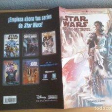Tebeos: COMIC STAR WARS IMPERIO DESTRUIDO NUMERO 2- PLANETA (ABLN). Lote 83650824