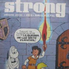 Tebeos: PPRLY - STRONG. SEMANARIO JUVENIL * AÑO III * NÚMERO 74. Lote 85660862