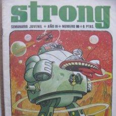 Livros de Banda Desenhada: PPRLY - STRONG. SEMANARIO JUVENIL * AÑO III * NÚMERO 86. Lote 83942708