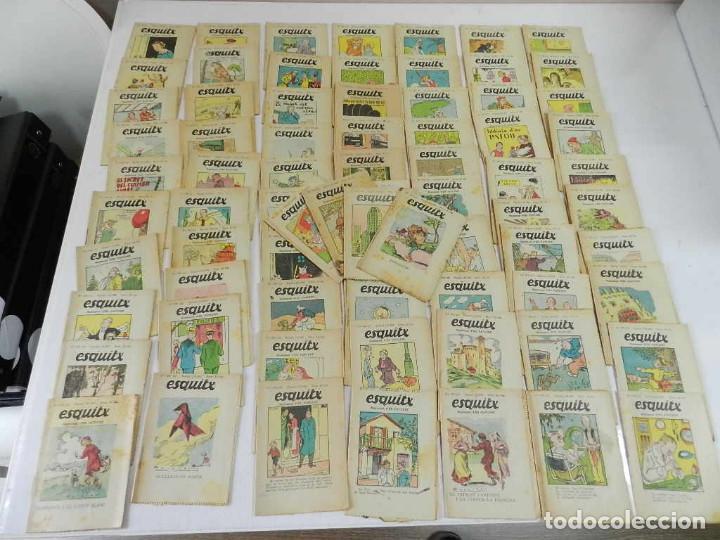 GRAN LOTE ESQUITX SUPLEMENT D´EN PATUFET – LOTE 74 EJEMPLARES. (Tebeos y Comics - Tebeos Clásicos (Hasta 1.939))