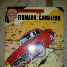 Tebeos: RIC BARRY RIC HOCHET FIRMADO CAMALEÓN CÓMIC JAIMES. Lote 84302636