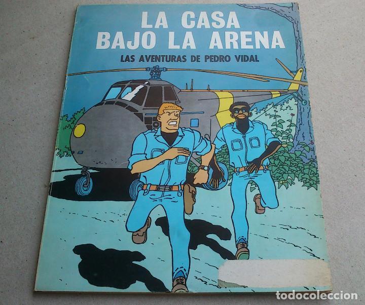 LAS AVENTURAS DE PEDRO VIDAL - LA CASA BAJO LA ARENA - CARBÓ Y MADORELL - OIKOS-TAU - 1969 (Tebeos y Comics - Tebeos Otras Editoriales Clásicas)